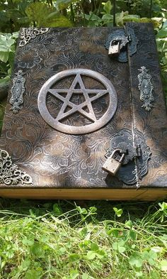 I want this Rare Handmade Boo...  Check it out  http://familiar-territory-store.myshopify.com/products/white-magick-wicca-book-of-shadows-journal-locking?utm_campaign=social_autopilot&utm_source=pin&utm_medium=pin