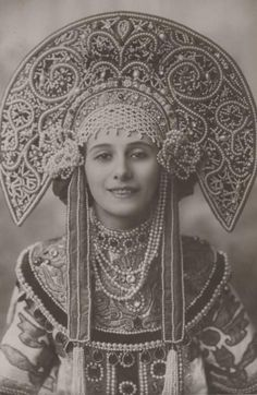 russian dance headpieces - Google Search