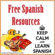 15 Free Spanish Resources | Free Homeschool Deals ©