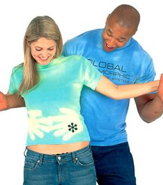 hyper color shirts!