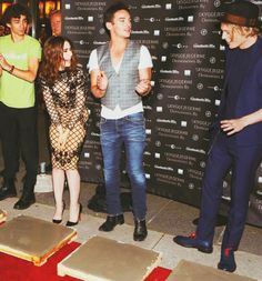 Robert, Lily,  Jonathan and Jamie
