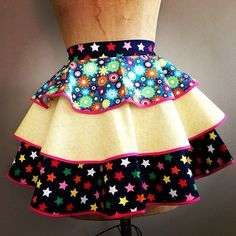 Women's Apron  Heavy Sugar Aprons  little Miss by theHouseofLux, $57.00