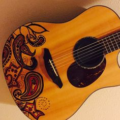 My design on a guitar that I'll have in my collection for the rest of my days.