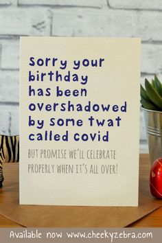 Funny Fathers Day Card cm x / x (Slightly bigger than Printed on textured cream card with matching kraft envelope Happy Birthday Best Friend Quotes, Happy Birthday Wishes Quotes, Birthday Cards For Friends, Birthday Wishes Cards, Funny Birthday Cards, Daddy Birthday, Birthday Images, Girlfriend Birthday Quotes, Inspirational Birthday Quotes