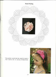 renda de bilros / bobbin lace casamento / weddings Lacemaking, Bobbin Lace, Collar Necklace, Hair Band, Bridesmaid, Floral, Pattern, How To Make, Beautiful
