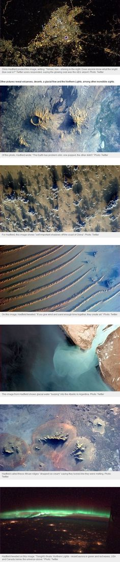 Latest images of Earth from Space (NASA).