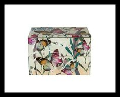 Square Butterfly Jewellery Chest Stunning mix of mirrored glass and butterflies, studded with pink diamantes and sprinkled with glitter. Lift the lid to reveal a felt lined interior for storage of all your jewellery items. Jewelry Chest, Jewelry Box, Large Drawers, Butterfly Jewelry, Timeless Design, Red Roses, Personalized Gifts, Decorative Boxes, Christmas Gifts