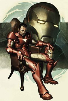 #Iron #Man #Fan #Art. (Iron Man Vol.3 #77 Cover) By: Adi Granov. (THE * 5 * STÅR * ÅWARD * OF: * AW YEAH, IT'S MAJOR ÅWESOMENESS!!!™ ÅÅÅ+ 3. 1