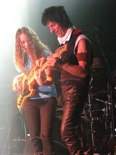 Tal Wilkenfeld, Jeff Beck I have seen her on tv and she is such a young talent!
