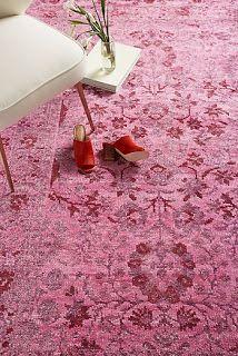 Bohemian rugs at anthropologie
