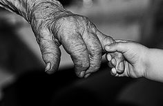 hand in hand -  old@new, past@future! by ChrisK4u, via Flickr