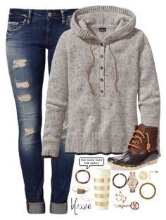 "when did we replace the word ""said"" with ""was like"" by kaley-ii on Polyvore featuring polyvore, fashion, style, Patagonia, Sperry Top-Sider, Mavi, Michael Kors, Aid Through Trade, Kate Spade, Valerie Nahmani Designs and Kendra Scott"
