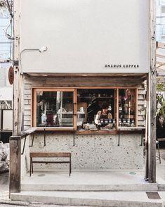 Coffee Shop Japan, Japanese Coffee Shop, Small Coffee Shop, Coffee Shop Bar, Best Coffee Shop, Coffee Store, Cafe Shop Design, Coffee Shop Interior Design, Mini Cafe