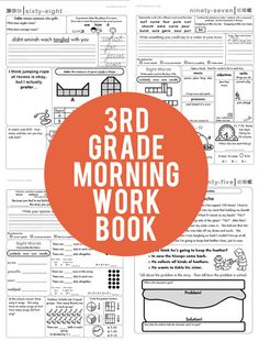 January is a great time to start a new routine with your class. How about shaking up your mornings with the new 3rd Grade Common Core Aligned Morning Workbook? 180 pages of meaningful, spiraling morning work. Click through for 10 free sample pages to try out today!