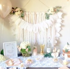 The most divine girls party via @karaspartyideas