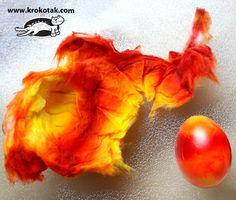 Fire eggs in cotton