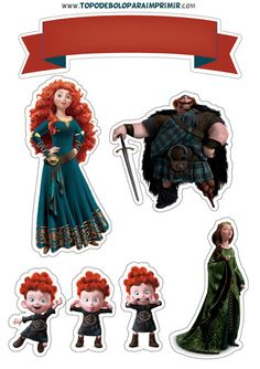 Brave Princess, Cake Decorating For Beginners, Cute Disney Drawings, Princesas Disney, Movie Characters, Rapunzel, Cake Toppers, Disney Princesses, Birthday