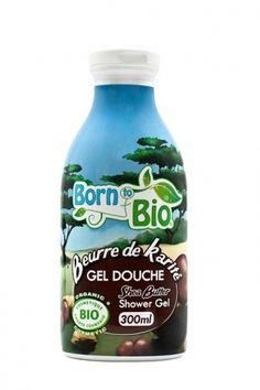 Gel de dus bio Unt de Shea, 300 ml, Born to Bio Mademoiselle Bio, Benzoic Acid, Shower Gel, Body Wash, Beauty Care, Shea Butter, Moisturizer, Organic, Natural Beauty