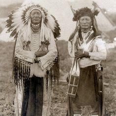 Big Spring, Wolf Eagle (aka Buffalo Chief) - Blackfeet (Pikuni) - circa 1935