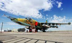 "Russian Sukhoi Su-25 ""Frogfoot' ground attack/close support aircraft @ Alexander Balykin"