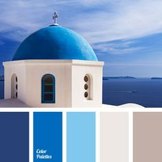 I ❤ cool colors . . . Color palette No 1847~ .