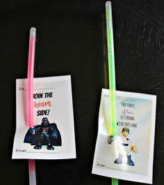 Freshly Completed: Printable Star Wars Valentines
