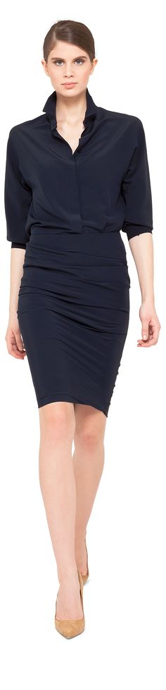 Akris. Navy. That is all.