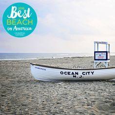 Best Beach in America finalist Ocean City, New Jersey