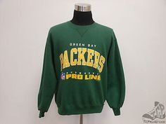 VTG 90s Russell Athletic Green Bay Packers Crewneck Sweatshirt sz L Large Pro Vintage by TCPKickz on Etsy