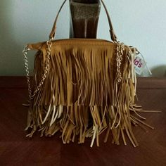 FRINGE PURSE BRAND NEW 11' Wide 10' DEEP FRINGE PURSE BRAND NEW Yoki Bags Crossbody Bags