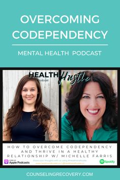 In this podcast episode we chat about codependency recovery including how to heal codependent relationships, set boundaries and take care of yourself without feeling guilty. You can heal these patterns! Take a listen and enoy!