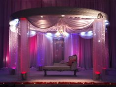Pink Reception stage design