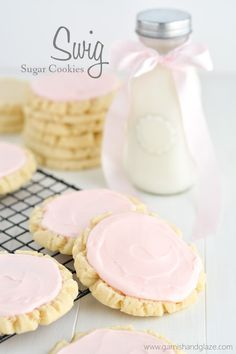 Swig Sugar Cookies   Garnish & Glaze