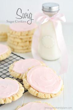 Swig Sugar Cookies | Garnish & Glaze