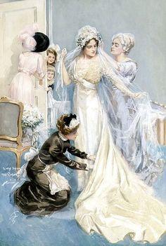 Harrison Fisher artwork (Harrison Fisher 1877 - 1934: