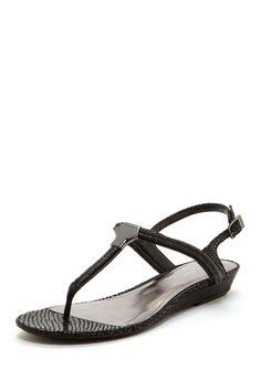 Braelyn Classic Python Sandal