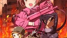 Sword Art Online Alternative: Gun Gale Online Capitulos Sword Art Online, Online Art, Boruto, Gun Gale Online, Card Captor, Anime, Alternative, Cartoon Movies, Anime Music