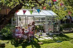 Barnkalas i Willab Gardens växthus Maxi 4.