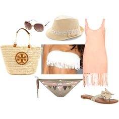 """Beach wear"" by natalie-188 on Polyvore"