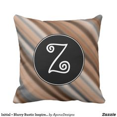 Rest your head on one of Zazzle's Fun decorative & custom throw pillows. Rustic Design, Decorative Throw Pillows, Initials, Stripes, Inspired, Pattern, Fun, Inspiration, Biblical Inspiration