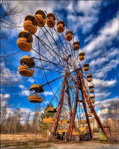 Haunted Places, Abandoned Places, Bora Bora, Alaska, Chernobyl 1986, Art Photography, To Go, Fair Grounds, Explore