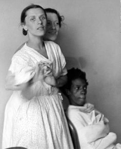 So she ended in the asylum where she find her child back in the black body of a boy