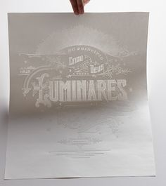 Luminares Poster, 1/7 in 7 Days series on Behance