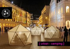 urban camping / Project for the competition Line of Site – Third brief / Martin Angelov