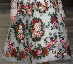 Details from Dolce & Gabbana Alta Moda Spring 2016