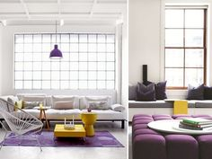 2014 color of the year... radiant orchid with a bit of yellow