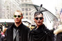 Easter Parade  Markus Kelle, NYC Nightclub Doorman, and Henry Coachella, Student