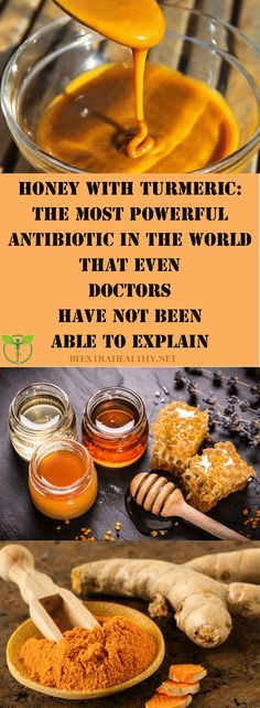 Honey with Turmeric: The Most Potent Antibiotic That not even Doctors Can Explain - Food Recipe Lover