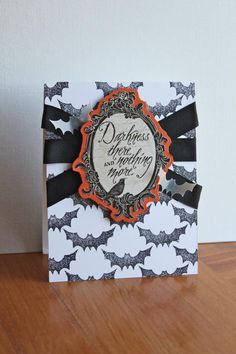 Halloween Card >> GoldenSimplicity.com