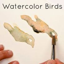 Watercolor Birds lots of great tutorials on her site~